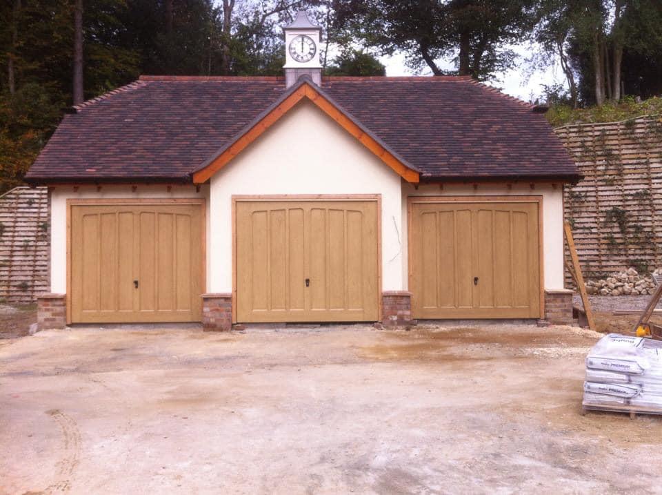 wooden garage doors IN BURGESS HILL