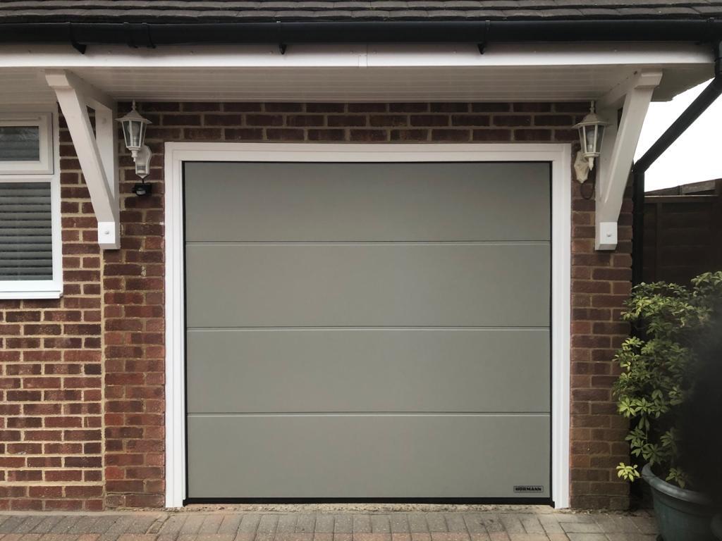 up and over garage doors done by JH Garage Doors 2