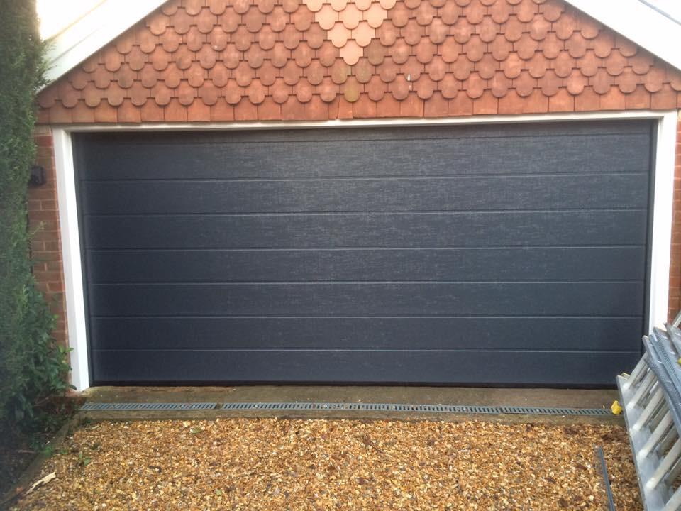 Sectional Door - installed